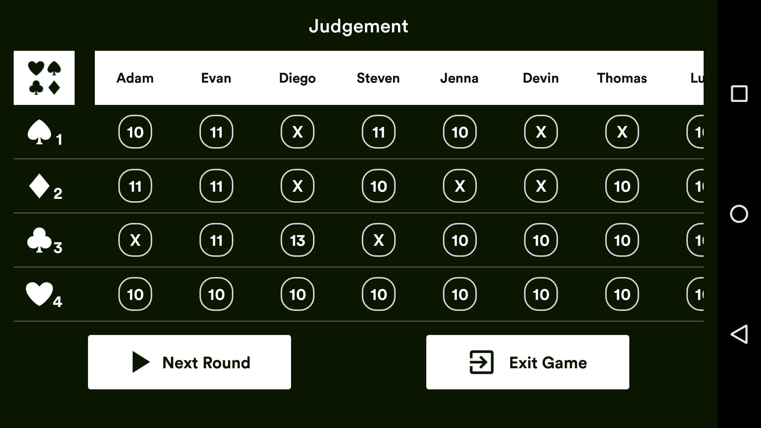 Judgement Android Source Code Screenshot 15