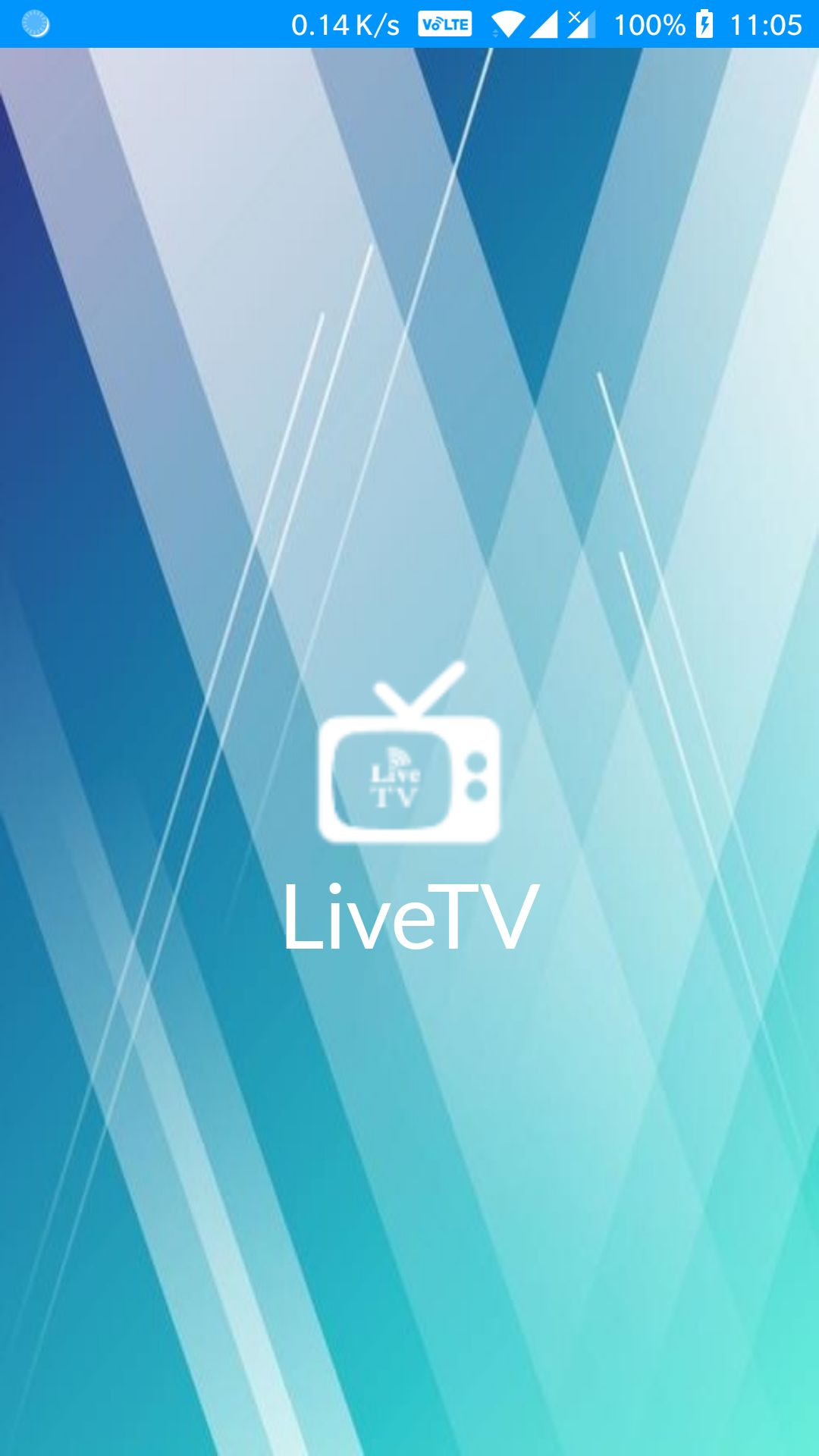 Android Live TV With Radio and Local Video Player Screenshot 1