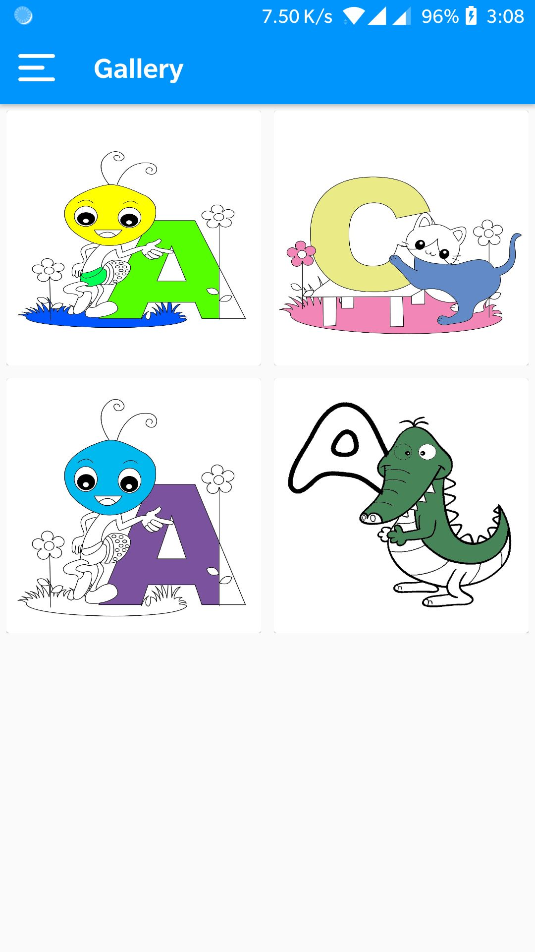 Kids Coloring Book Android Source Code Screenshot 5
