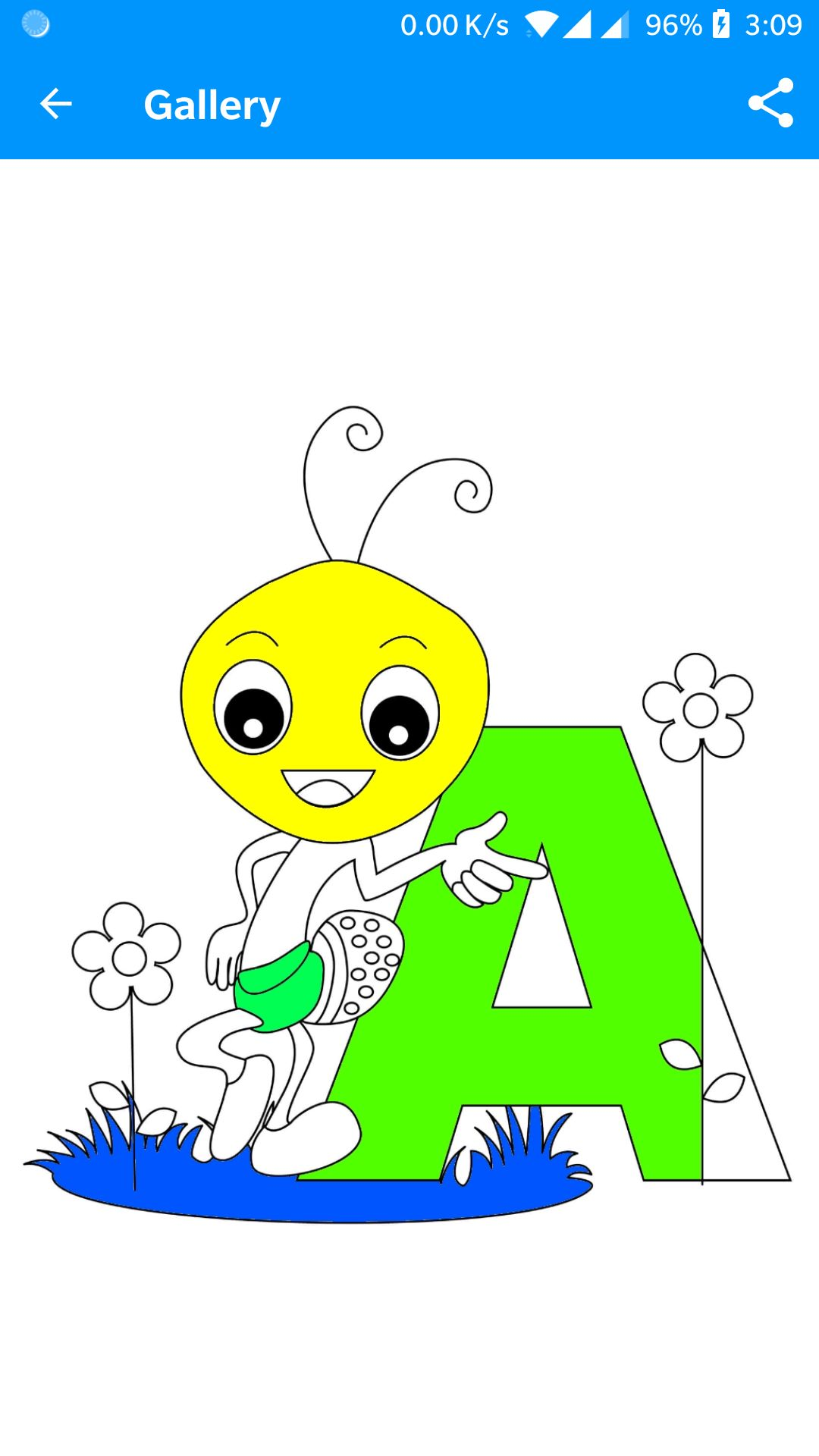 Kids Coloring Book Android Source Code Screenshot 6