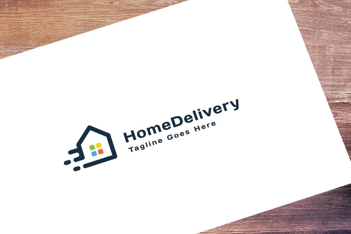 Home Delivery Logo Screenshot 1