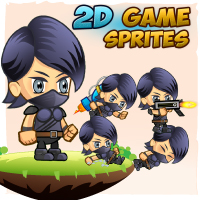 2D Game Character Sprites 16