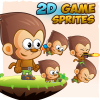 monkey-2d-game-character-sprites