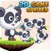 panda-2d-game-character-sprites