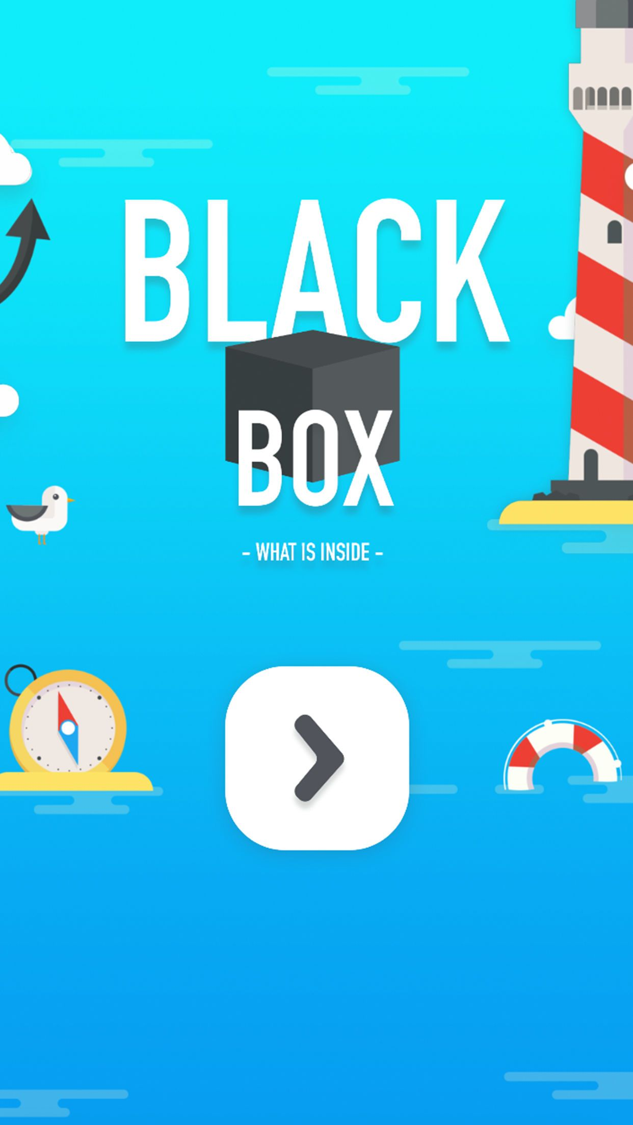 Black Box - Unity game for iOS Screenshot 1