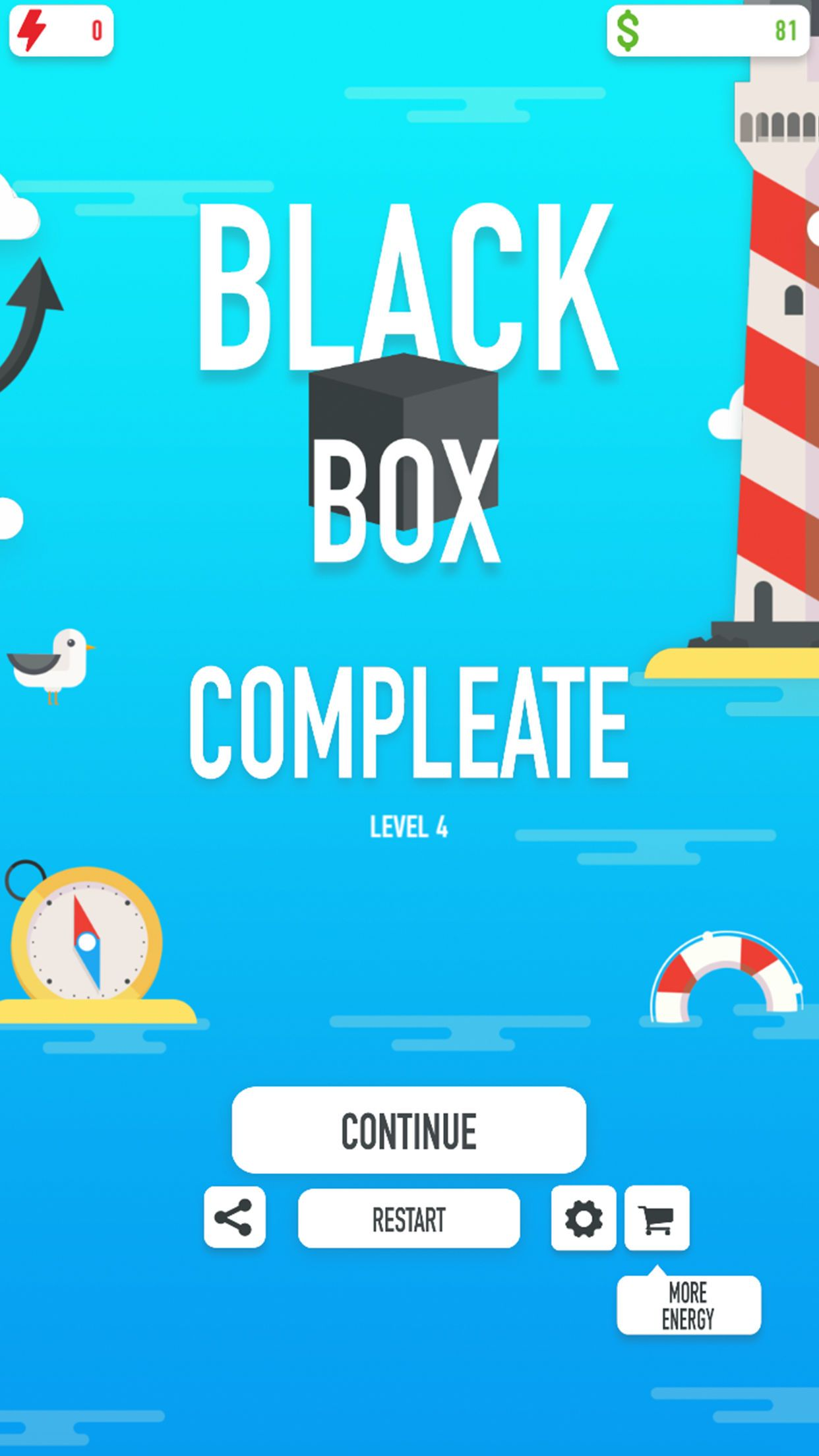 Black Box - Unity game for iOS Screenshot 4