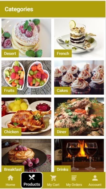 Kitchen - Ionic 3 Restaurant App With PHP Backend Screenshot 2