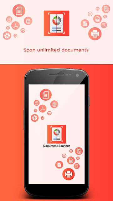 Document Scanner - Android Source Code Screenshot 1