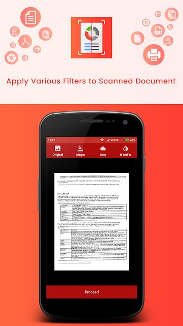 Document Scanner - Android Source Code Screenshot 4