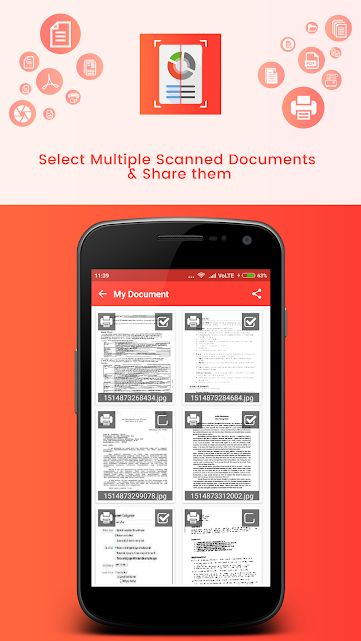 Document Scanner - Android Source Code Screenshot 5