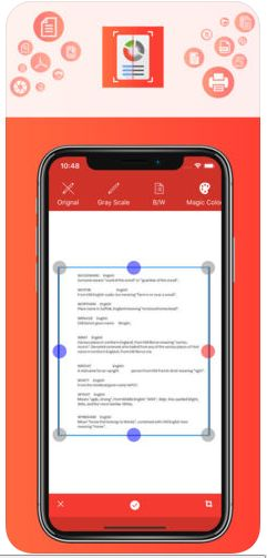 Document Scanner App - iOS Source Code Screenshot 3