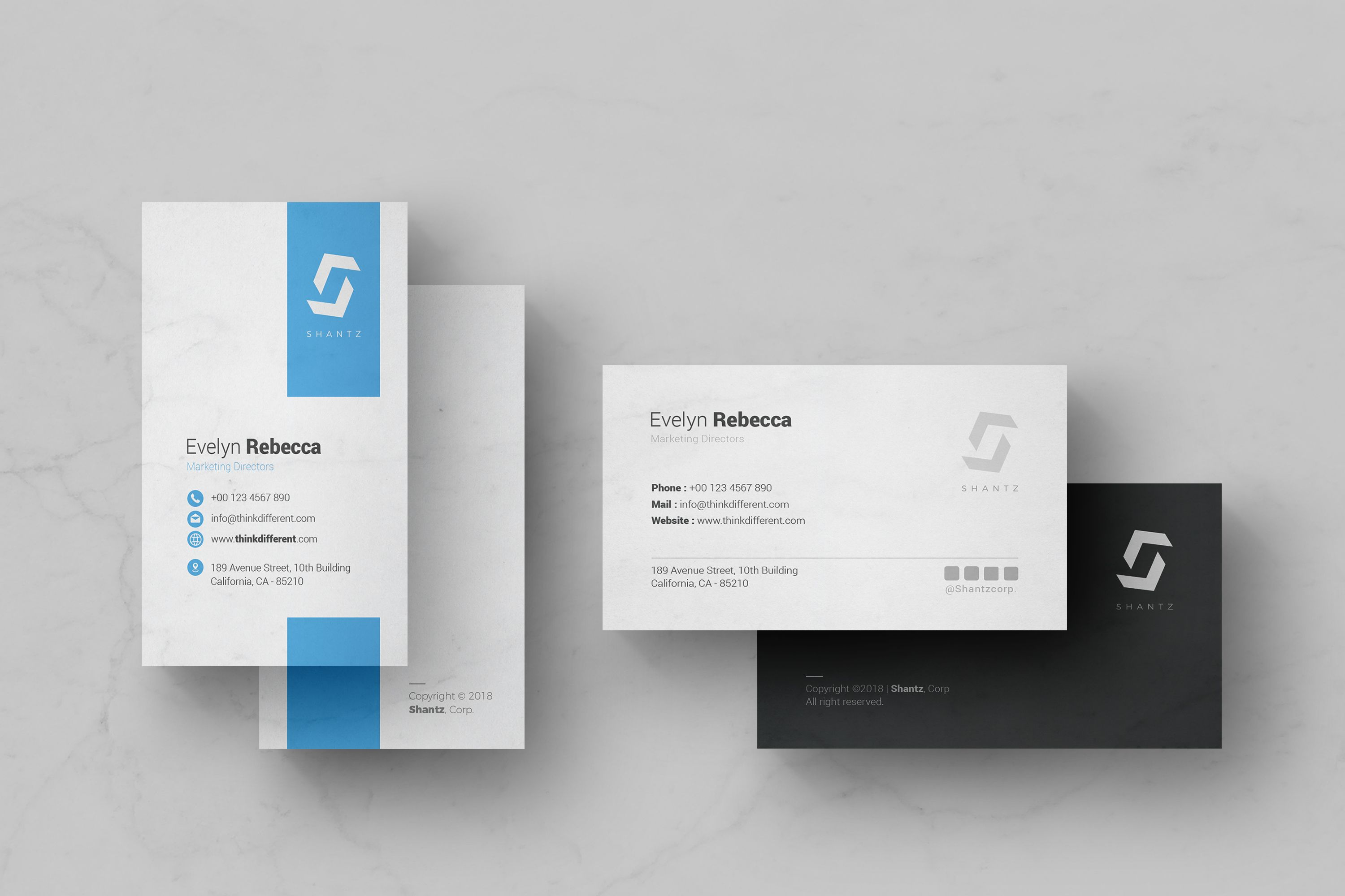 Professional Business Card Vol 04 Screenshot 1