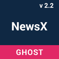 NewsX - Responsive News Ghost Theme