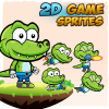 crocodile-2d-game-character-sprites
