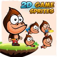 Gorilla Game Character Sprites