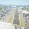 Airport Level Unity 3D Model