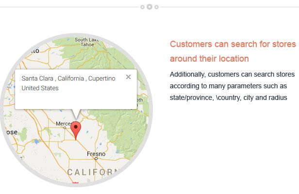 Magento Store Locator Extension Screenshot 2