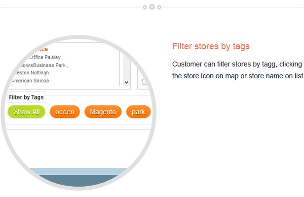 Magento Store Locator Extension Screenshot 3