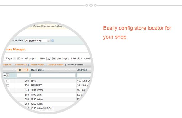 Magento Store Locator Extension Screenshot 4