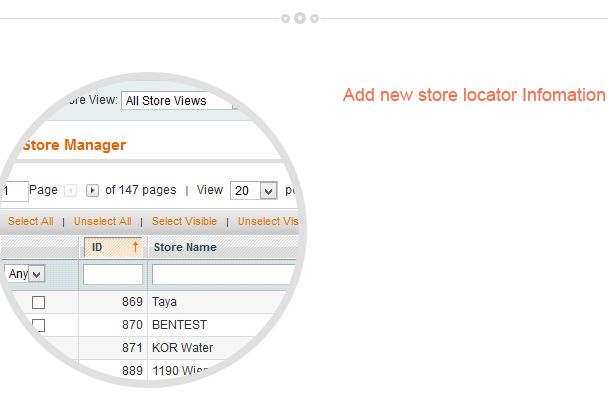 Magento Store Locator Extension Screenshot 5