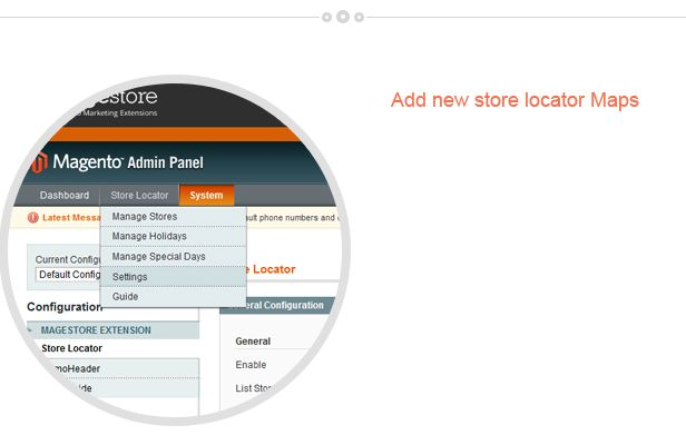 Magento Store Locator Extension Screenshot 6