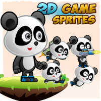 Panda 2D Game Character Sprites
