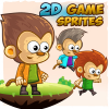 monkey-039-s-2d-game-character-sprites