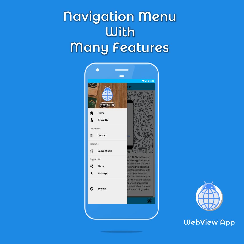 WebView App Android Template Screenshot 2