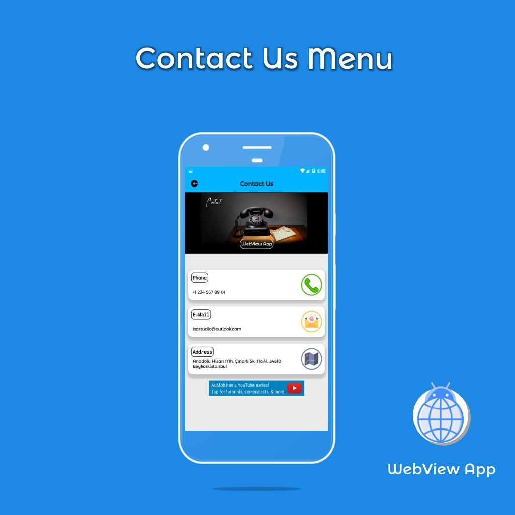 WebView App Android Template Screenshot 4