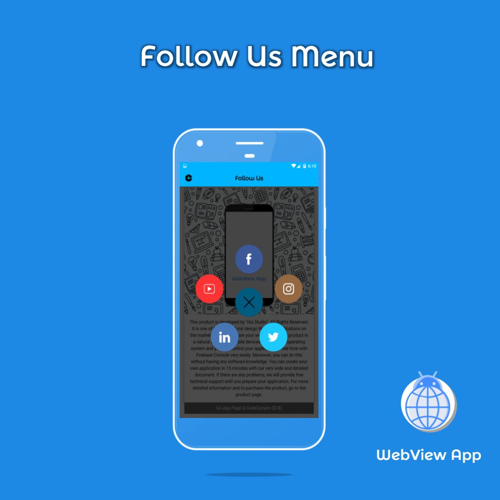 WebView App Android Template Screenshot 5