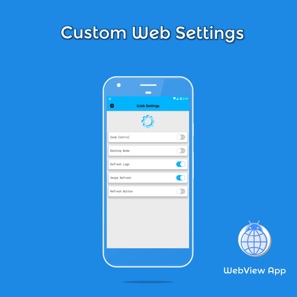 WebView App Android Template Screenshot 6