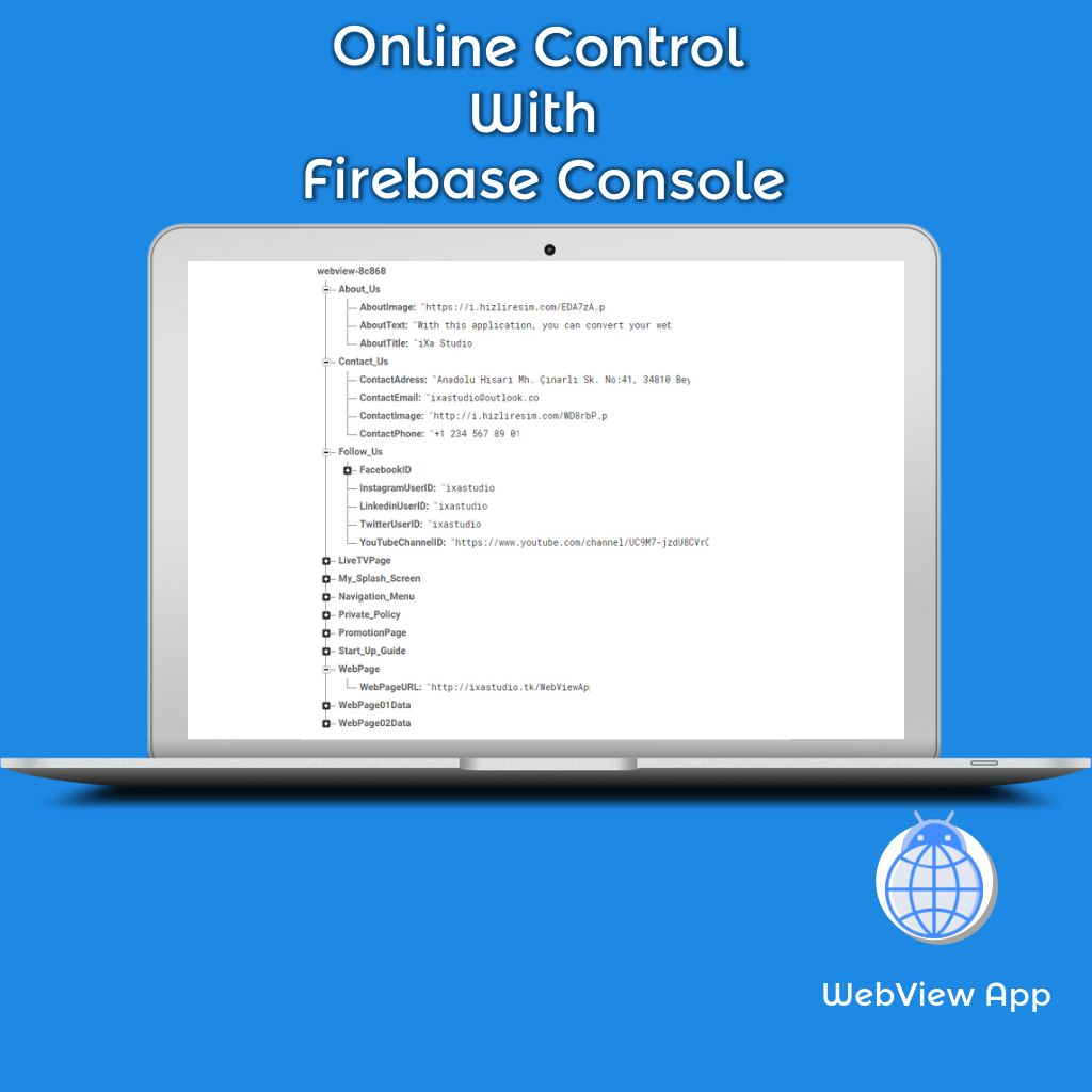 WebView App Android Template Screenshot 7