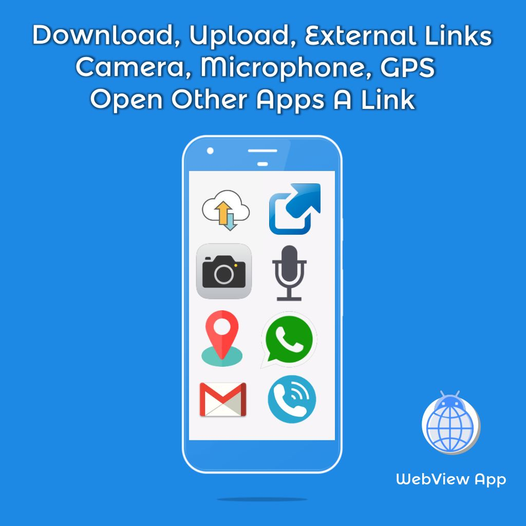 WebView App Android Template Screenshot 8