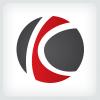 Circle Letter K Logo