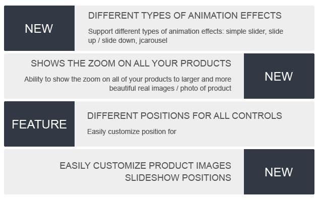 Magento Product Images Slideshow Extension Screenshot 1