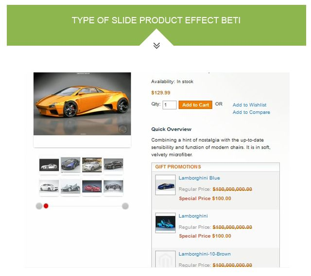 Magento Product Images Slideshow Extension Screenshot 3