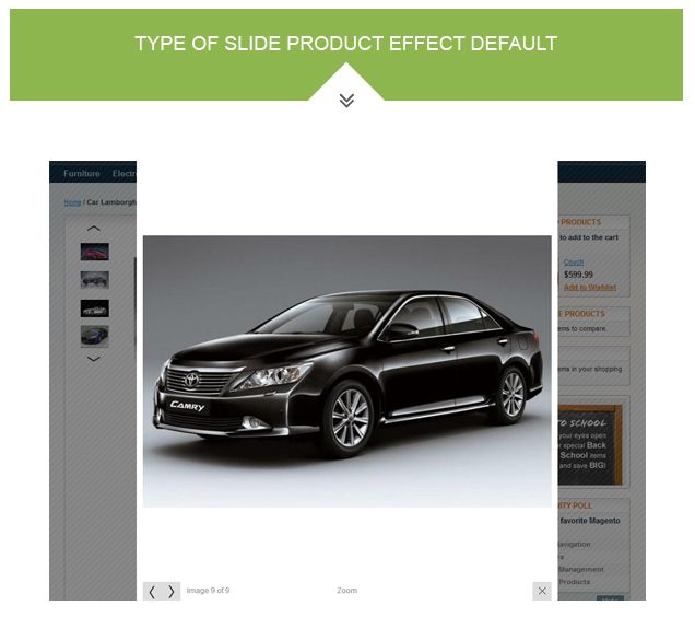 Magento Product Images Slideshow Extension Screenshot 4
