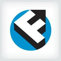 Letter F Arrow Logo