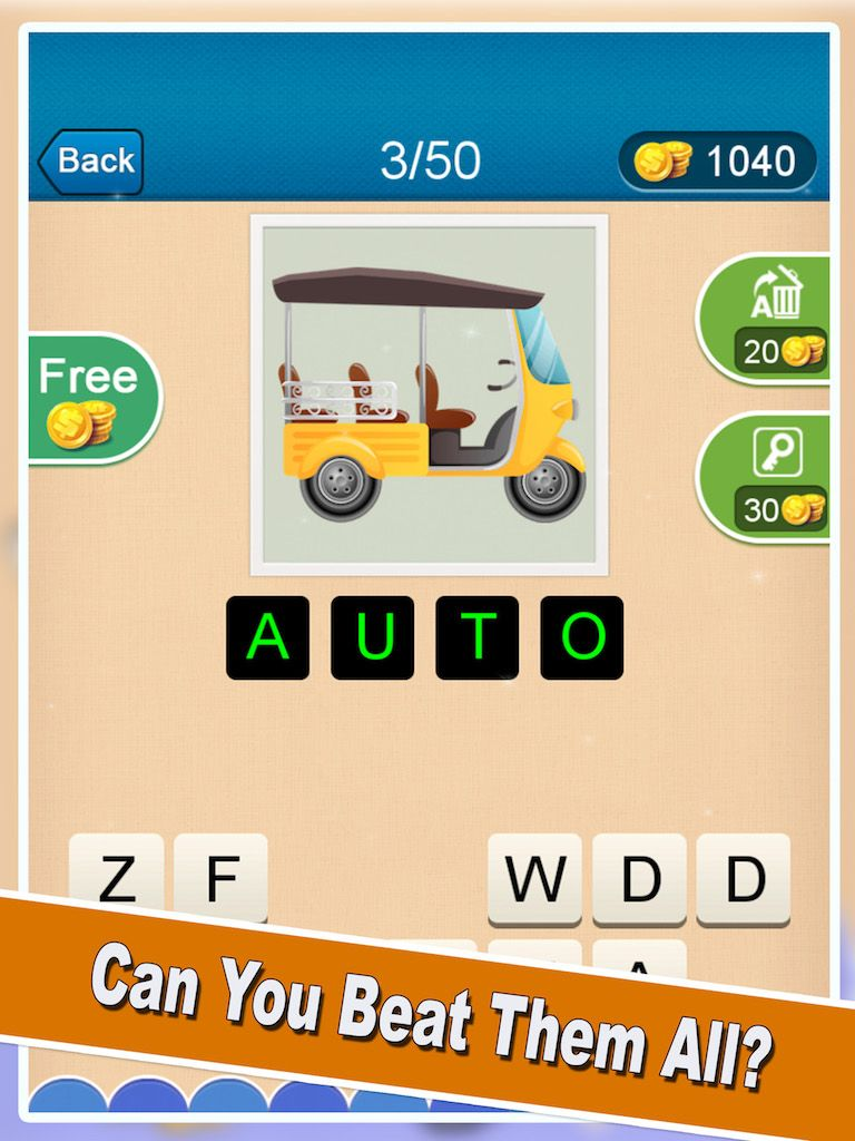 Trivia Quiz Android Game Template Screenshot 3