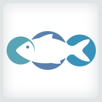 Fish Bubbles Logo