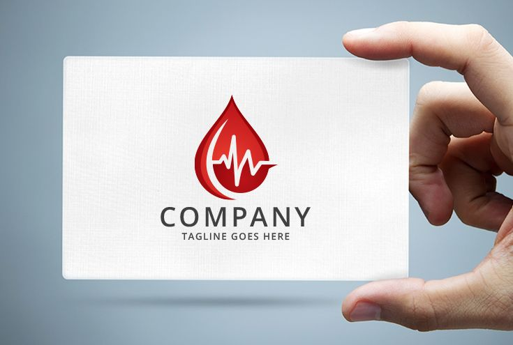 Blood Droplet - Medical Logo Screenshot 1