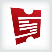 Ticket - Letter S logo