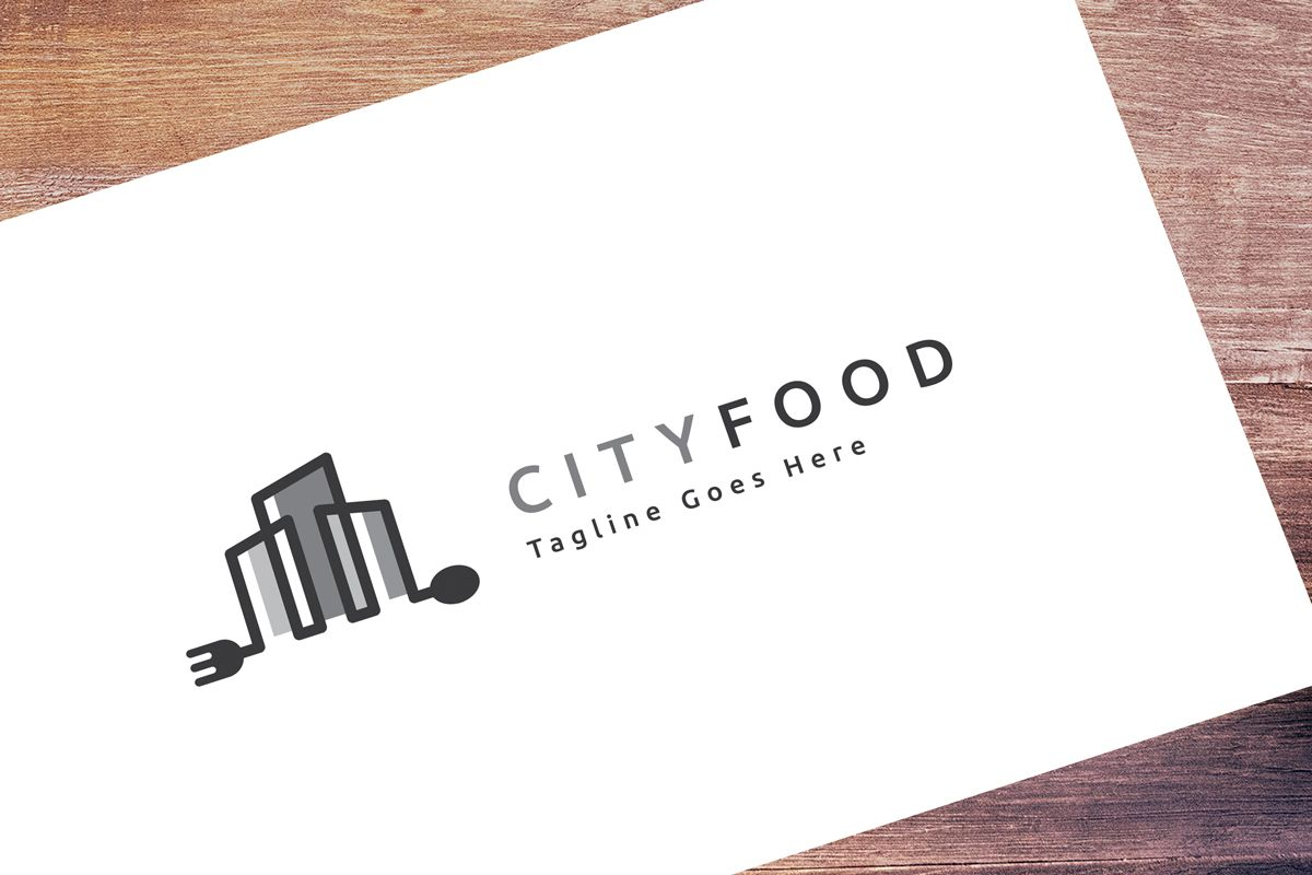 City Food Logo Screenshot 1