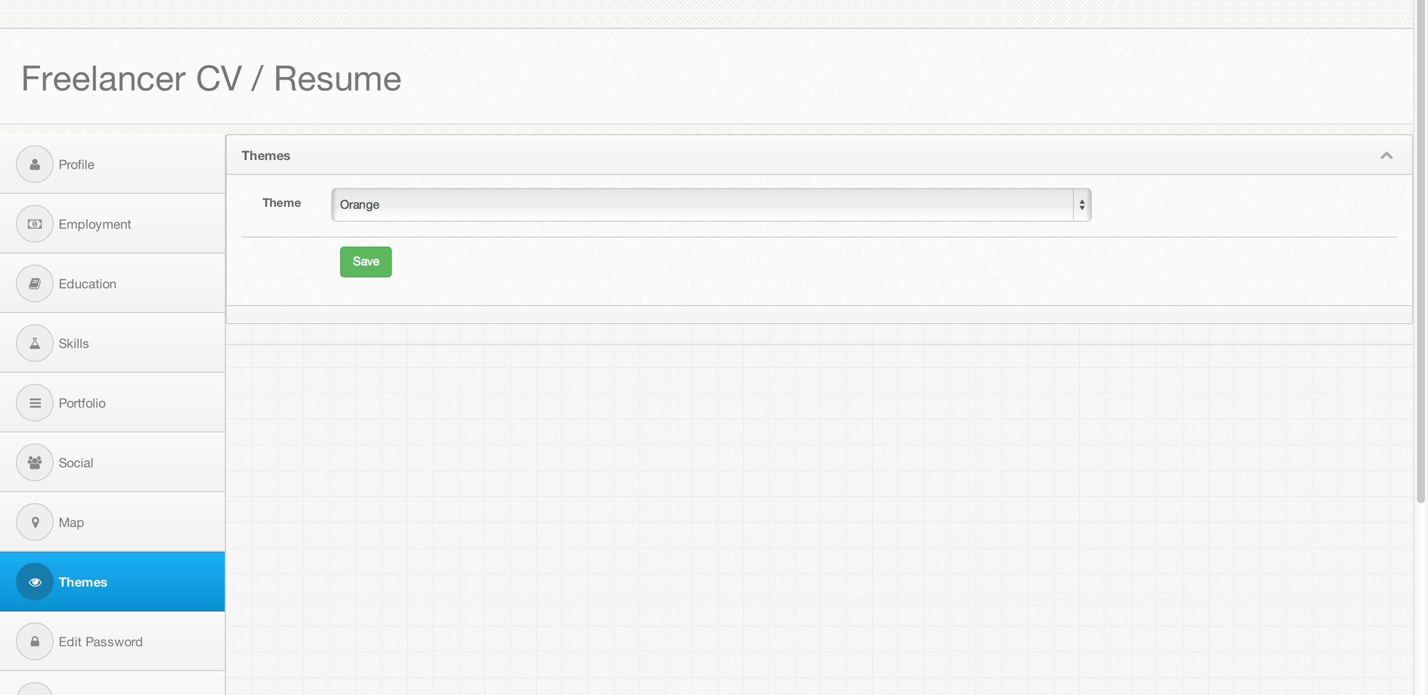 lancer cv resume php script php scripts php code codester lancer cv resume php script screenshot 2
