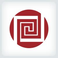 Squares Pattern Logo