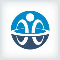 Interlocking Rings  - People Logo