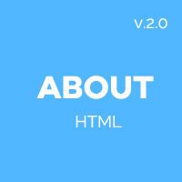 About - HTML Bootstrap Resume Portfolio Theme
