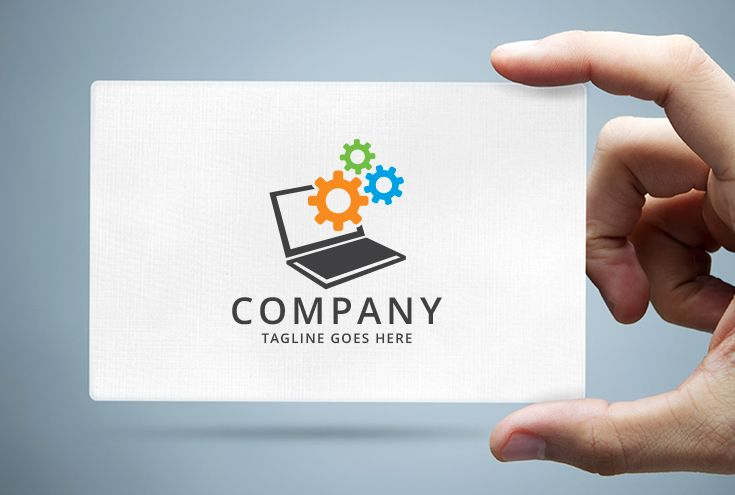 Computer Repair Services Logo Screenshot 1