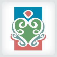 Stylized Heart Logo