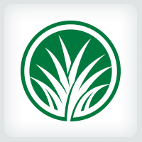 Grass - Lawn Care Logo
